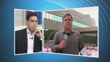 Presidente TJAM fala sobre processos contra pefeito de Coari, no AM - Desembargador Ari Moutinho se reuniu com a imprensa na manhã desta quarta-feira (5).
