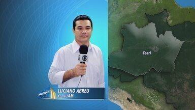 Ministério Público envia representantes para Coari, no AM - Membros do MP estão no município para ouvir depoimentos de pessoas citadas em processos contra o prefeito, Adail Pinheiro.