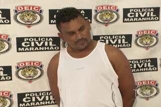 Polícia prende homem apontado como um dos líderes de uma facção criminosa de São Luís - Suspeito foi encaminhado para a Superintendência de Investigações Criminais.