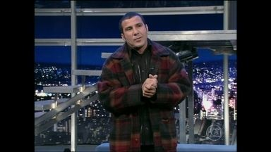 Eri Johnson imita famosos no Programa do Jô - Reveja a entrevista divertidíssima de 2004
