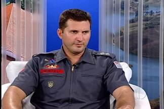 Tenente dos bombeiros de Mogi explica como evitar afogamentos - O tenente dos bombeiros Lucas Mieteli fala sobre os cuidados.
