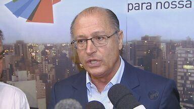 Alckmin anuncia aumento de vazão de 1 m³/s do Sistema Cantareira para região - A vazão do Sistema Cantareira para as bacias dos Rios Piracicaba, Capivari e Jundiaí vai aumentar 1 m³/. O anúncio foi feito neste sábado pelo governador Geraldo Alckmin que esteve em Campinas.