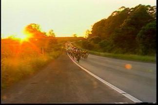 Fim de semana foi de muita pedalada na região - Cerca de 200 ciclistas participaram do Audax, modalidade esportiva que vem ganhando cada vez mais adeptos.