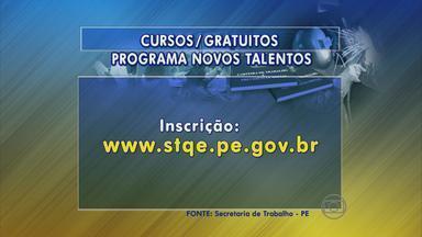 Programa Novos Talentos abre vagas para treinamentos - No Recife, são 40 vagas para o curso de reparador de circuitos eletrônicos.