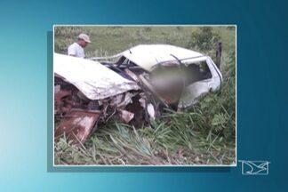 Polícia investiga causas de acidentes na MA-006 no sul do Maranhão - Três pessoas morreram e três ficaram feridas.