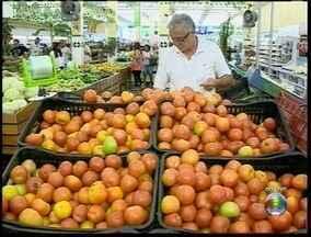 Supermercados de Presidente Prudente registram aumento nos preços - Alta foi causada pelas 'chuvas mal distribuídas' no começo do ano.