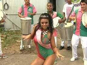 Escolas de samba do grupo de acesso ajustam últimos detalhes para desfile na capital - Escolas de samba do grupo de acesso ajustam últimos detalhes para desfile na capital
