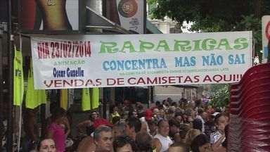 Bandas carnavalescas agitam Santos - Fim de semana contou com diversas bandas pela cidade