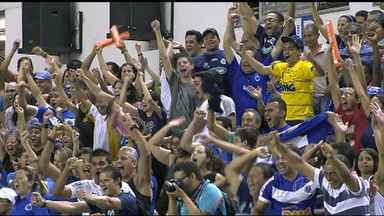 Em jogo emocionante Cruzeiro conquista o Bi-campeonato Sul-Americano de Vôlei - Na noite deste domingo o Cruzeiro ganhaou pro 3x1 do UPCN da Argentina. A vitória deu ao Cruzeiro o segundo título do Campeonato Sul-Americano de Vôlei.