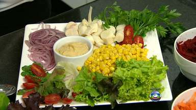 Aprenda a preparar saladas variadas - Veja as dicas da nutricionista Silvana Portugal.