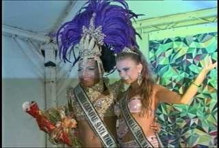 Sábado teve escolha da rainha gay do carnaval de Santa Maria, RS - O concurso aconteceu no sábado, na Praça Saldanha Marinho, e seis candidatas concorreram ao título.