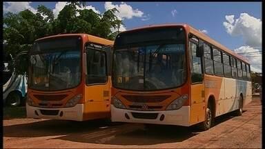 Nova empresa assume linha de ônibus para Planaltina de Goiás - Trinta e nove ônibus da empresa Candango começaram a circular. Mais veículos estão sendo preparados.