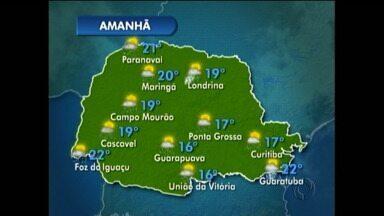 Terça-feira de chuva na região de Curitiba - Confira a previsão do tempo