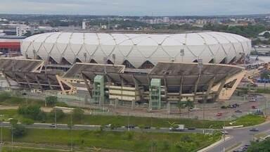 Arena da Amazônia deverá ser inaugurada com jogo entre Nacional e Remo, em Manaus - Governador determinou até o dia 7 de março para que estádio, atualmente com 97,29%, fique pronto. Duelo das quartas de final da Copa Verde ocorre no dia 9.