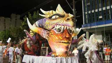 Escola de Samba Saci-Pô é campeã do carnaval de Poços de Caldas, no Sul de Minas - Este é o 31º título da agremiação. A escola levou para a avenida o enredo 'Anai-vos uns aos outros'.