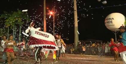 Teve desfile do Bumba-Meu-Boi nesta segunda-feira em Campina Grande - Veja como foi a festa.