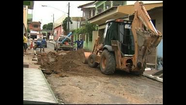 Moradores do bairro Santa Clara ficam sem água na segunda-feira - Serviço foi restabelecido no final da tarde de segunda-feira, 3.
