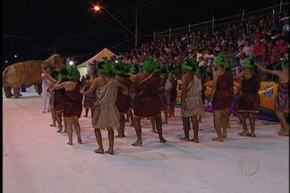 Escolas do Grupo Especial de Suzano encerram carnaval da cidade - As escolas trouxeram muita criatividade e fizeram homenagens durante os desfiles na noite de segunda (3).