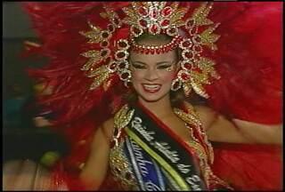 Confira a preparação da rainha do carnaval gaúcho para as festas em Santa Maria, RS - A rainha adulta do carnaval gaúcho é de Santa Maria. Ela conquistou o título no último final de semana.