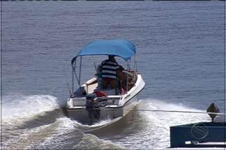 Fiscalização das embarcações na costa sergipana é intensificada - A Capitania dos Portos intensificou durante o carnaval a fiscalização de embarcações na costa sergipana