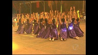 Cristoval em Santarém encerra com público de 11 mil fiéis - Coordenação avaliou como positiva mudança de local. 34ª edição do evento iniciou no sábado (1º).