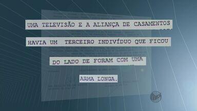 Ladrões invadem aeroporto e roubam base de bombeiros em Araraquara, SP - Ladrões invadem aeroporto e roubam base de bombeiros em Araraquara, SP.