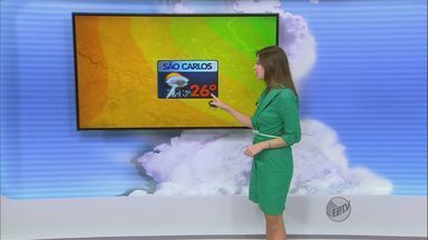 Confira a previsão do tempo para São Carlos e região nesta quinta-feira (6) - Confira a previsão do tempo para São Carlos e região nesta quinta-feira (6).