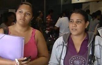 Maioria dos estudantes não se cadastrou no passe livre, em Goiás - Na manhã desta quinta-feira (6), muitos estudantes procuraram as unidades do Vapt Vupt, mas o sistema do Setransp estava fora do ar.