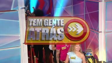 Faustão 2013 - TEM GENTE ATRAS - LINHA DO TEMPO - TEM GENTE ATRAS