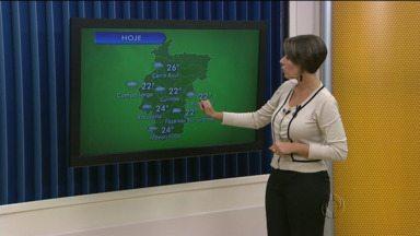 Previsão do tempo - Chuva volumosa provoca alagamentos na região de Curitiba.