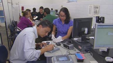 TRE prorroga prazo para cadastramento biométrico até o dia 31 de março - Por enquanto, postos ainda estão vazios à espera de 277 mil eleitores.