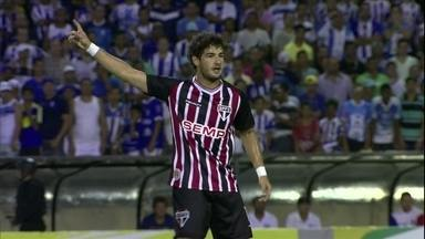 Na estreia de Pato, São Paulo vence por 1 a 0 na Copa do Brasil - Tricolor vence em Alagoas com gol de Osvaldo