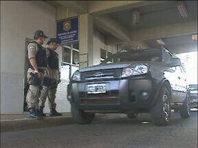 Policiais rodoviários fazem treinamento para trabalhar durante a copa do mundo - O policiais recebendo capacitação para atender os turistas estrangeiros