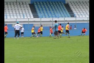 Paysandu quer acabar com sequência de empates - Time enfrenta Santa Cruz pelo Parazão, nesta quinta-feira.