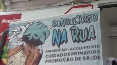 Usuários de drogas recebem atendimento especial - Consultório de rua será montado para tratamento