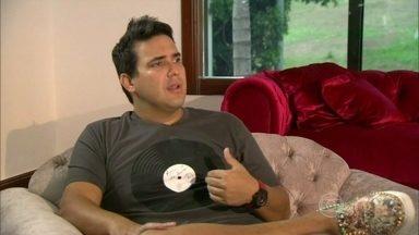 André Marques revela como perdeu peso - Em entrevista ao Fantástico, o ator conta como se adaptou à nova vida