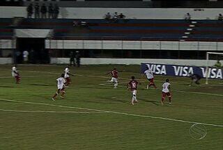 Sergipe estreia com vitória na Copa do Brasil contra o Náutico - O Sergipe estreou bem na Copa do Brasil, com vitória por 1 a 0 sobre o Náutico no Presidente Médici, em Itabaiana. O resultado garante ao clube uma boa vantagem na partida de volta, no dia 2 de abril, na Arena Pernambuco.