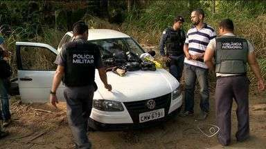 Mais de 20 tabletes de crack são encontrados na Ufes, em Vitória, ES - A droga estava em um carro abandonado.