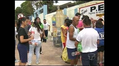 APAE será beneficiada por projeto ambiental - Um posto de arrecadação voluntária de embalagens recicláveis foi instalada na instituição para ajudar nos seus projetos em Santarém.