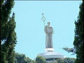 Joaçaba se prepara para receber fiéis na Romaria em homenagem a Frei Bruno - Joaçaba se prepara para receber fiéis na Romaria em homenagem a Frei Bruno