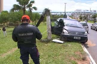 Dois acidentes graves são registrados na manhã desta sexta em Salvador - Confira o giro de notícias desta manhã.
