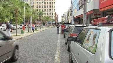 Prefeitura elabora plano para tentar reduzir congestionamento no Centro de Fortaleza - Prefeitura cita principais pontos de engarrafamento na cidade.