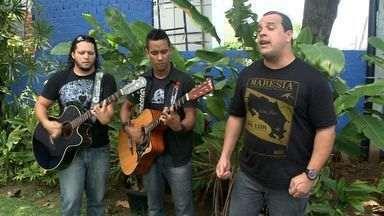 Banda alagoana de pop rock L-100 vai lançar 1º CD autoral - O vocalista Léo Calheiros fala sobre o show.