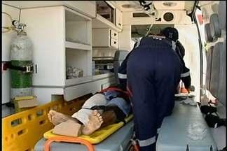 Homem é baleado no Centro de Petrolina - O tiro atingiu a perna da vítima.