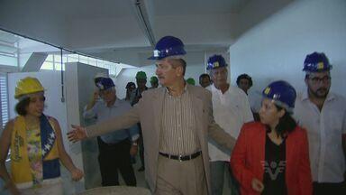 Ministro do Esporte Aldo Rebelo visitou cidades da Baixada Santista - Ministro visitou a cidade de Guarujá e Santos para acompanhar preparativos para a Copa do Mundo 2014.
