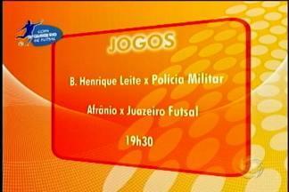 Nesta sexta mais quatro jogos da Copa TV Grande Rio animam o final de semana esportivo - Hoje tem jogos pela Copa Tv Grande Rio de Futsal na quadra do Sesc
