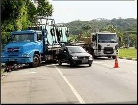 Duas pessoas ficam feridas em acidente na BR-381 - Acidente aconteceu no perímetro urbano de Ipatinga.