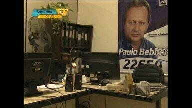Polícia ouve o corretor envolvido na gravação em que vereador de Cascavel cobra propina - O vereador Paulo Beber é acusado de cobrar para liberar projeto de construção de casas populares.