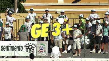Vote no seu lance preferido do GE3+ - Entre no site do Globo Esporte e vote no seu lance preferido da rodada.