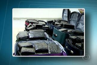 Operação da PF com a polícia italiana apreende uma tonelada de cocaína - Dez suspeitos foram presos. A droga saía do porto de Santos para a distribuição na Europa. Uma das maiores máfias da região da Calabria, na Itália, comandava o tráfico.